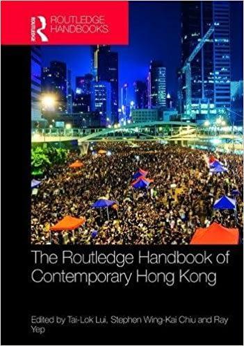 Routledge Handbook of Contemporary Hong Kong